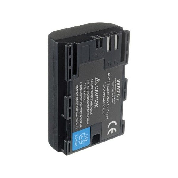 Core SWX Rechargeable Lithium-Ion Battery Pack for Canon 5D Mark II and 7D - 1800mAh