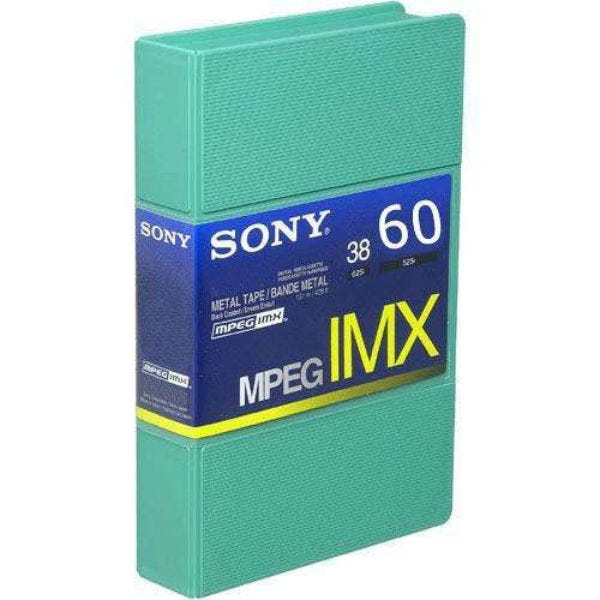 Sony MPEG IMX Tape 60 minutes