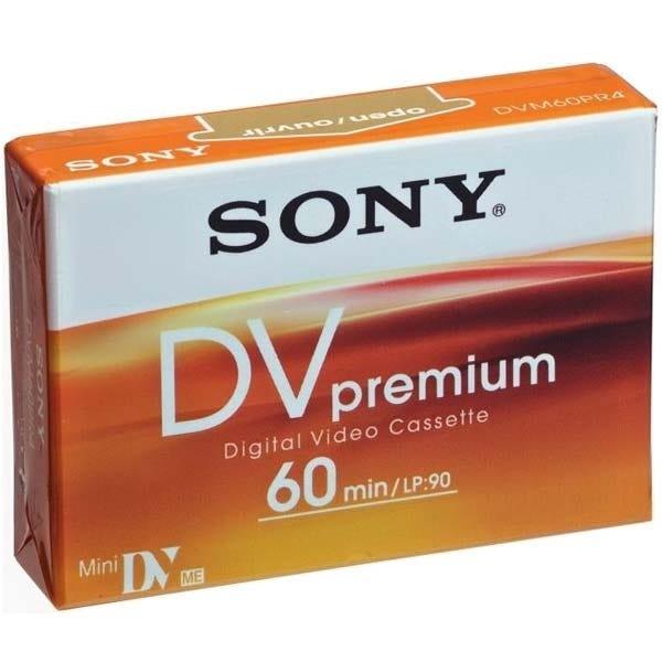 Sony HDV/DV - 60 Minutes - PREMIUM Mini DV Cassette - ORANGE