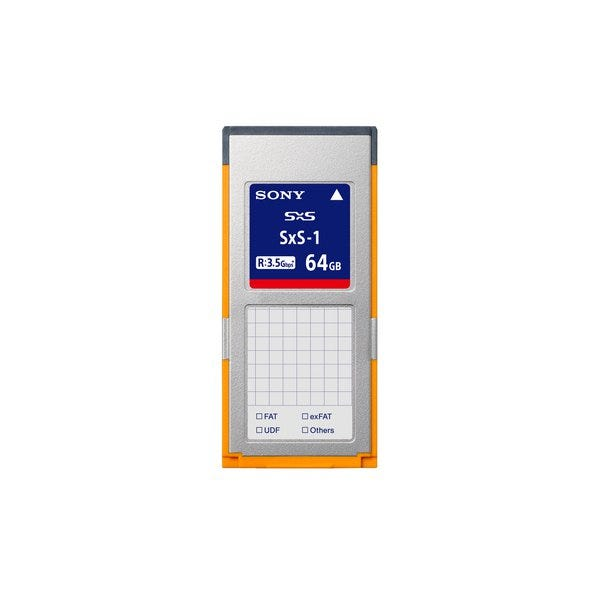 Sony 64GB SBS64G1C SxS-1 Series Memory Card
