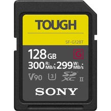 Sony 128GB SF-G Tough Series UHS-II SDXC Memory Card