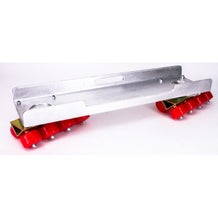 Modern Skateboard Dolly Complete with Channels (Set of 2)