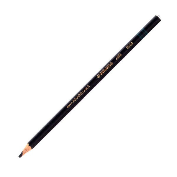Stabilo Pencil Crayon (Grease Pencil) - Black