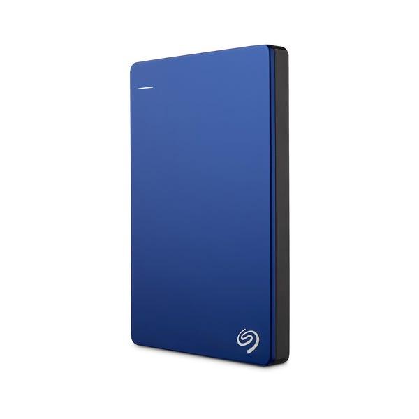 Seagate 1TB Backup Plus Slim Portable External Hard Drive - Blue