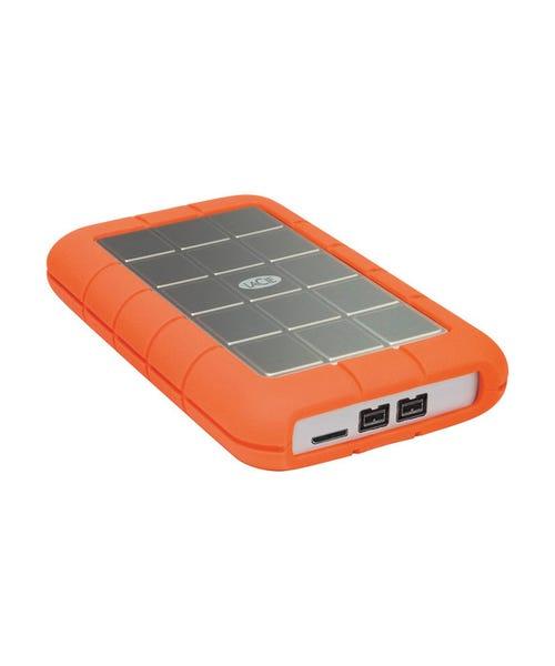 LaCie 1TB Rugged Triple Interface USB 3.0 Portable Hard Drive