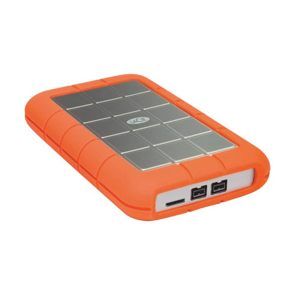 LaCie 2TB Rugged Triple Interface USB 3.0 Portable Hard Drive
