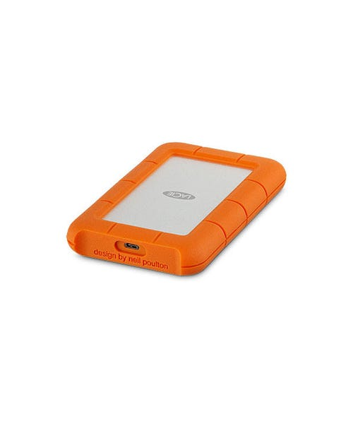LaCie Rugged USB 3.0 Type-C Portable Hard Drive (Various)