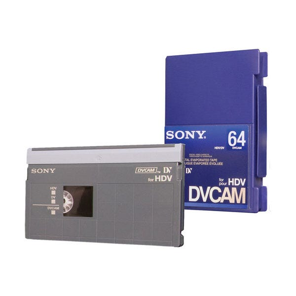 Sony 64 Minute DVCAM for HDV Tape