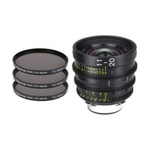 Tokina Cinema ATX 11-20mm T2.9 Zoom Lens with 3 x PRO IRND Filter Kit (PL Mount)