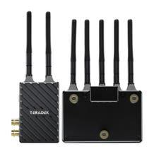 Teradek Bolt 4K LT 1500 3G-SDI/HDMI Wireless RX/TX Deluxe Kit with Gold Mount Battery Plate