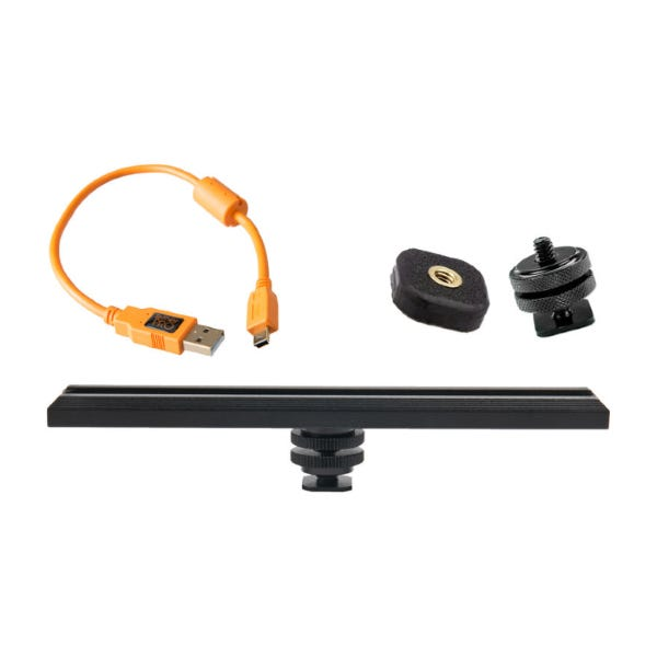 Tether Tools CamRanger Camera Mounting Kit with 5-Pin USB 2.0 Cable - Orange