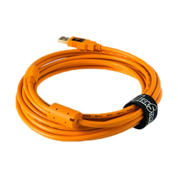Tether Tools Starter Tethering Kit with USB 2.0 Mini-B 5-Pin Cable - Orange