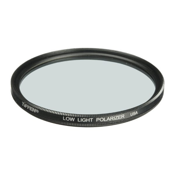 "Tiffen 4.5"" Low Light Polarizing Glass Filter"
