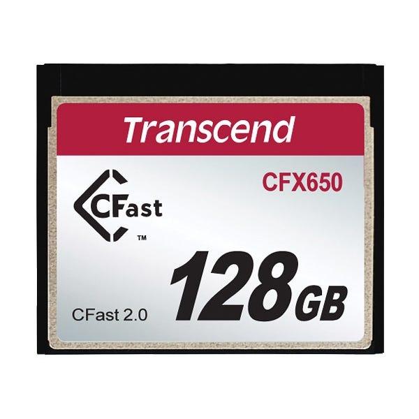 Transcend 128GB CFX650 CFast 2.0 Flash Memory Card