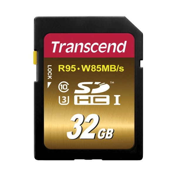 Transcend 32GB Ultimate UHS-1 SDHC Memory Card