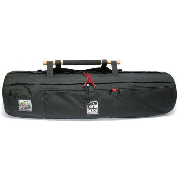 """Porta Brace Padded Tripod Shell Case for Tripods up to 50"""" Long with Leg Diameters less than 12"""" - Black"""