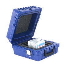 Turtle Data RDX/DLT/LTO-10 Case - Blue