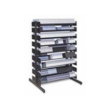"Turtle Data 54"" 16 Shelf Multi-Media Rack - Single Sided"