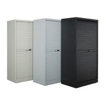 """Turtle Data 54"""" High Cabinet - with 8 MultiMedia Shelves"""