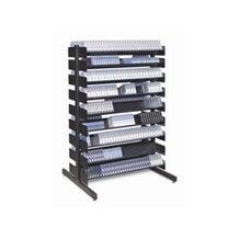 "Turtle Data 54"" 8 Shelf Multi-Media Rack - Single Sided"