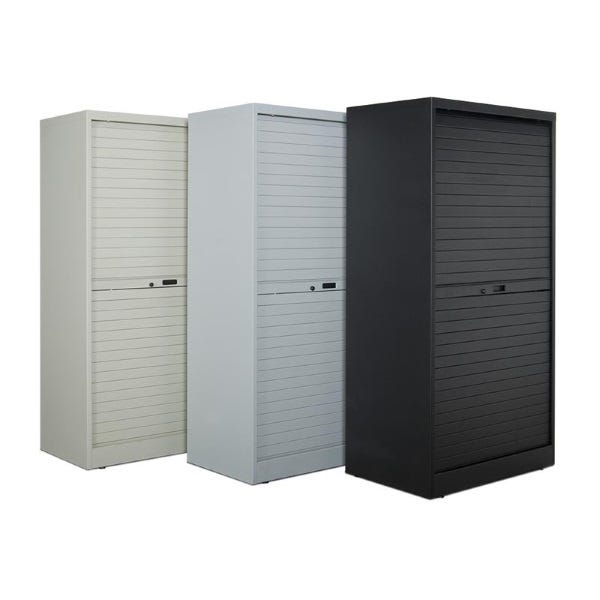 """Turtle Data 60"""" High Cabinet - with 9 MultiMedia Shelves"""
