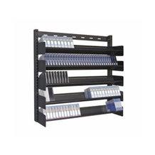 Turtle Data Wall Mounted Multi Media Rack - 5 Shelves