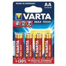 Varta AA Professional Alkaline Batteries (4 Pack)