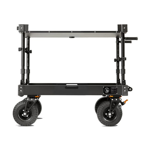 Inovativ Voyager 42 EVO Equipment Cart with X-Top Keyboard Shelf