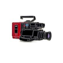 Film Pin Society 80s VHS Camera Pin