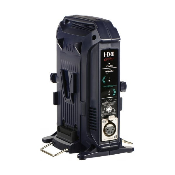 IDX System Technology 2-Channel V-Mount Charger & Power Supply