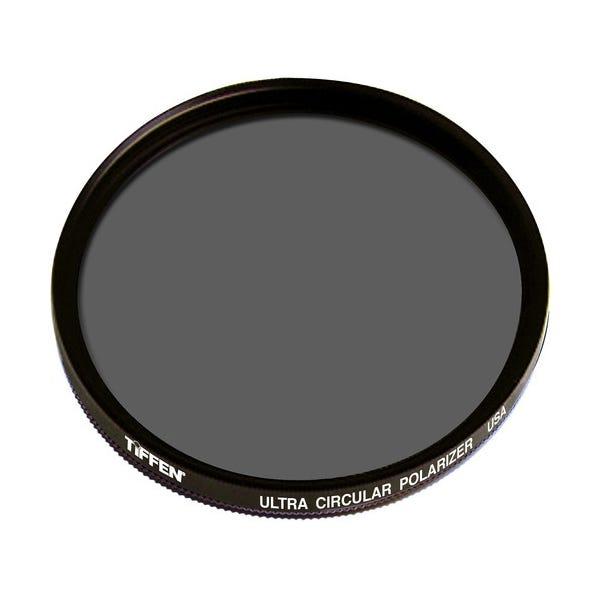 "Tiffen 4.5"" Round Drop-In (DI) Water White Ultra Circular Polarizer Filter"