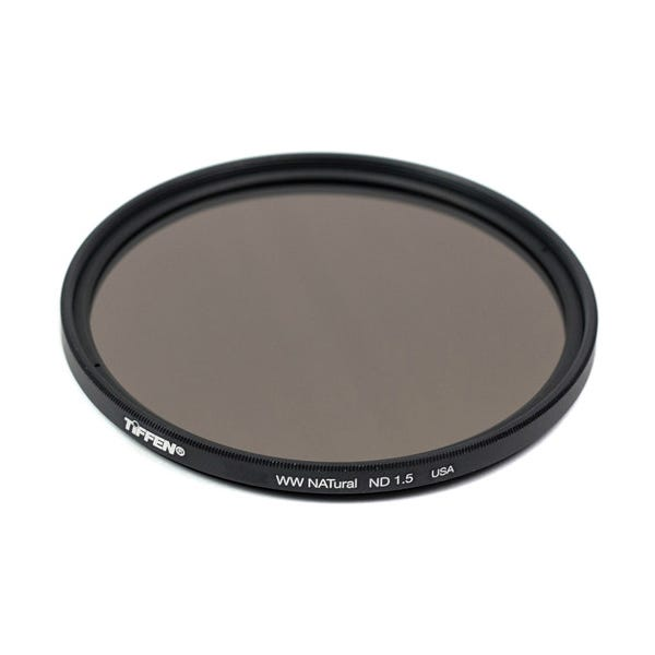 Tiffen 55mm Water White Glass NATural IRND 1.5 Filter - 5 Stop