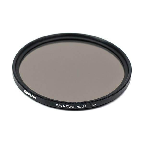 Tiffen 58mm Water White Glass NATural IRND 2.1 Filter - 7 Stop