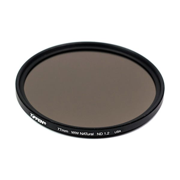Tiffen 72mm Water White Glass NATural IRND 1.2 Filter - 4 Stop