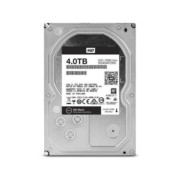 WD Black 4 TB 3.5-inch Performance Hard Drive - SATA - 7200r