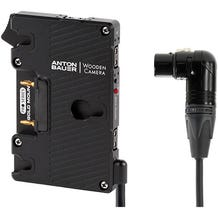 Wooden Camera Pro Gold Mount Plate with 4-Pin Right-Angle XLR