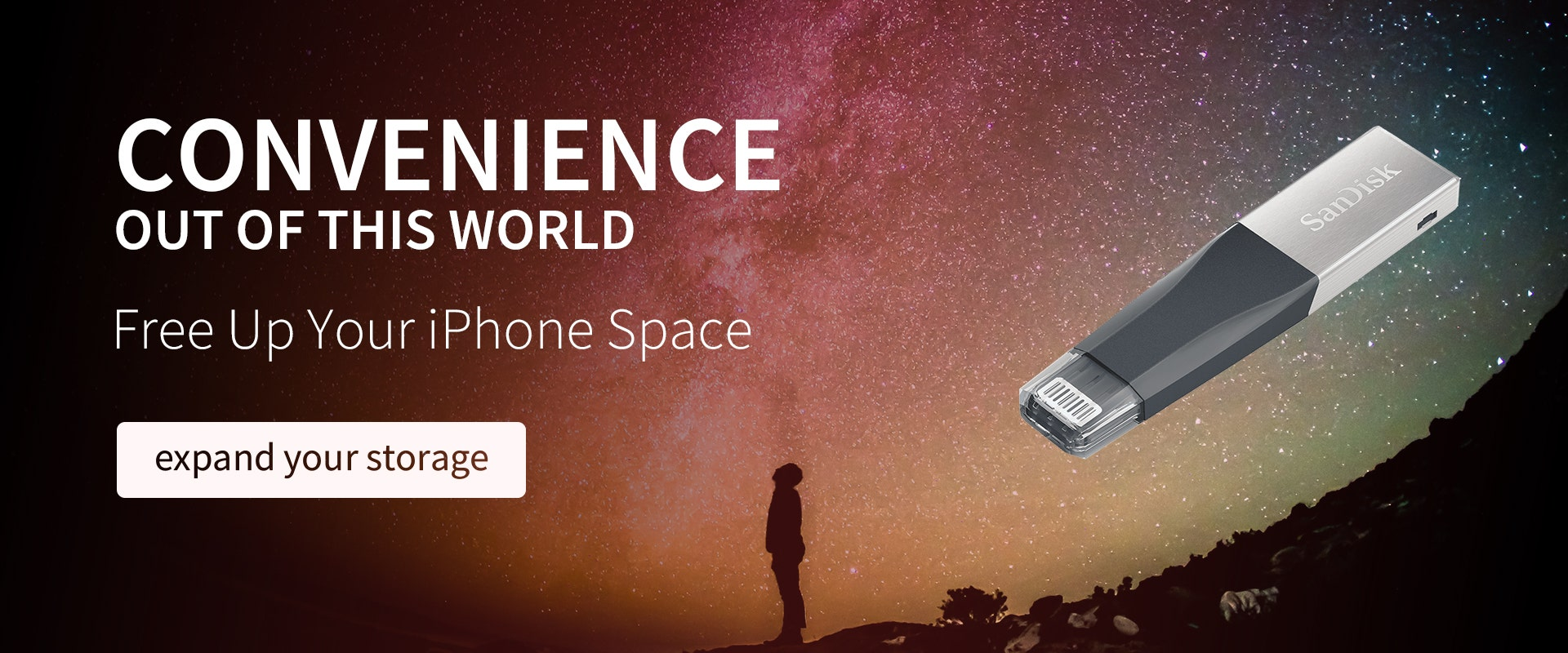 SanDisk enabling you to free your space on your iPhone.