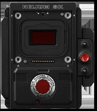 RED DIGITAL CINEMA DSMC2 BRAIN Camera with a HELIUM 8K S35 Sensor