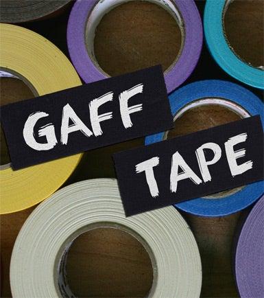 Rolls of Gaffer Tape