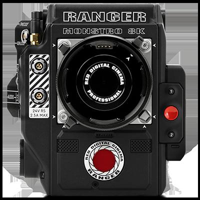 RED DIGITAL CINEMA RED RANGER with MONSTRO 8K VV Kit